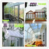 Glass Sun Room House Garden Conservatory Winter Garden /Aluminum villa sunroom and winter garden /Winter Gardens Sun House