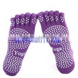 Premium Non Slip Resistant Excercise Gym Dance Foot Massage Thick Training Ballet Barre Yoga Sock