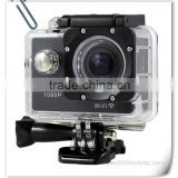 Free Accessories Kit Waterproof Action Camera 12MP 1080P HD with 2 Batteries