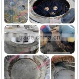 Magnesite refractory mixers for Electric Arc Furnace on Alibaba website