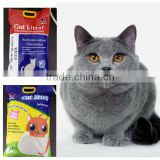 China Hard Clumping Dust Less Bentonite Cat Litter