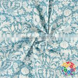 2016 New Arrival Beautiful Blue White Fashion Table Fabric 100% Cotton Fabric
