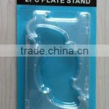 plastic display plate stand display plate holder/plate easel