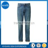 Hot Sell Brand Name Mens cheap Slim Fit Denim Jeans