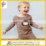 2014 New style casual hooded sweater,long sleeve fleece cotton children,Baby set sleeping wear