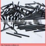 black titanium plated body piercing jewelry bars accesssories cheap wholesale hot sale