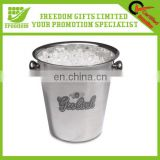 Logo Printed Customized Stainless Steel Ice Bucket