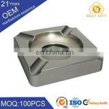 Promotion guaranteed quality silicone / plastice/ wooden/ metal ashtray with cheap price