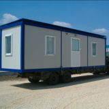 Prefabricated container house 20ft shipping container home