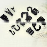 High quality fashion garment accessories different size for plastic hook & clip belt buckles
