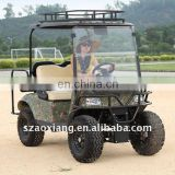 New 4WD Electric Car, Off-road Hunting Vehicle, Utility Golf Cart with independent suspension system| AX-C2+2-4X4