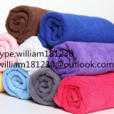Colors 30CM*30CM long textil towel with high quality and moderate price