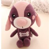 The new Year of the Dog cute Teddy puppy stuffed doll custom mascot to design and process