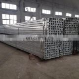crc square steel pipe /crc galvanized steel pipe