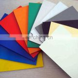 Color aluminum composite panel for signboards