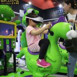 Virtual Reality Alliance 9D VR Simulator Kids Indoor Kids Amusement Rides For Sale
