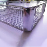 CustomStainless Steel Medical Corner Disinfection Basket
