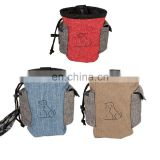 Wholesale Manufacturer Portable Travel Pet Dog Cat Food Bag