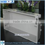 High strength light weight FRP battery case,UV resistance fiberglass battery box,anti-aging case