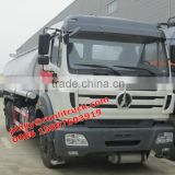 Cheaper Price Beiben 10Wheels Oil Tank Truck 25000Liters Oil Truck Fuel Delivery Trucks For Sales