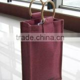 canvas wine bag 6 bottle wine bag
