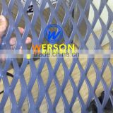 Aluminium Expanded machine mesh,silver and powder coated