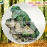 Resin animal garden art lizard ornement