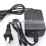 12V 1A 2A Wall mounted Power Supply For HDTV Antenna Receiver UL FCC CE Approved adapter