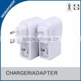 DC 5V 2A usb power adapter 220V supply with US,EURO,AUS,UK plug for LED strip,CCTV camera etc.