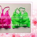 Fancy Microfiber Sport Bras Factory
