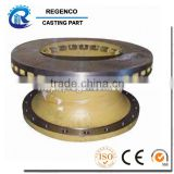 Investment Casting for Brake Components, Made of QT500-7, CNC Machining and Spraying Finish