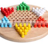 Wooden chess board games toy