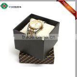 2016 new design wholesale custom rotating watch box with pillow