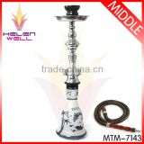 good hookah for wholesale and a gift with 2 hose