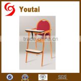 Wholesale aluminum restaurant baby chair