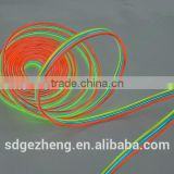 2.3mm 5.0mm el wire neon wire with strong brightness flowing visible light multi color el wire novelty