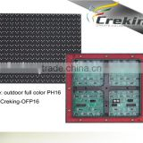 wholesale p16 outdoor full color led display module/tricolor led display module/Single color led display module xxx video module