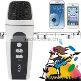 Mini Pocket Cellphone Karaoke Player Home KTV Microphone Recorder