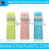 400ML Bidon Podium Antimocrobial Water Bottle w Freezer Stick Ice Wand