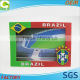 3D Customized logo football club world cup Brazil spain england Photo Frame