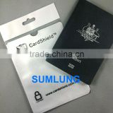 RFID Blocking Sleeve for USA Passport Protector Anti Scan ID Protection OEM Factory offer LOGO printing