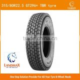 2015 best chinese brand truck tire/tyre for sale TBR tire 315/80R22.5 with perfect performance