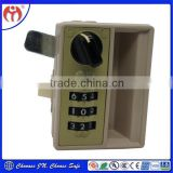 China lock smith Jianning Security Easy use Mechanical Combination Locker Lock JN9502 4 digits