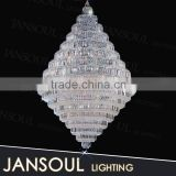 zhongshan chrome big hanging shop light circle pendant light replica jason miller modo chandelier