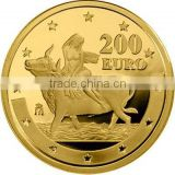 Customized Gold Bronze Silver high quality fake gold Coins
