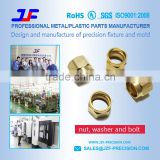 copper/brass/aluminum nuts ,mechanical metal parts,/accessories screw nut stud gasket CNC machining molding