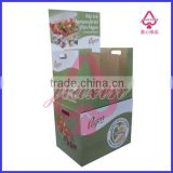 promotional dump bins paper display for bedding/food