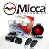2 Buttons Plastic Transmitter One Way car alarm system, car anti-stolen unit, doom light output, security alarm system,