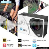 2016 4K Underwater Mini Sports Action Camera Wifi Version Full HD Sports Action Camera