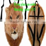 Tiger backpack Ultra low-cost sales promotion Korean style tiger head backpack,animal backpack